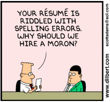 is-spelling-important-in-your-resume-dilbert